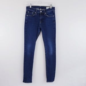 Rag & Bone High Rise Skinny Jeans in Heritage 28